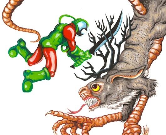 Jackaloparaptor&Spaceman